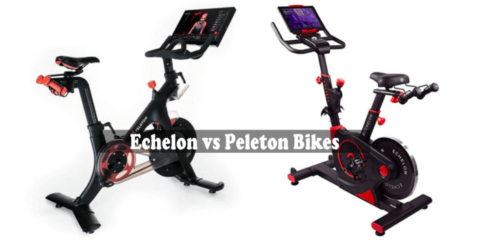 Echelon vs Peleton Bikes - LifeFitnessBike