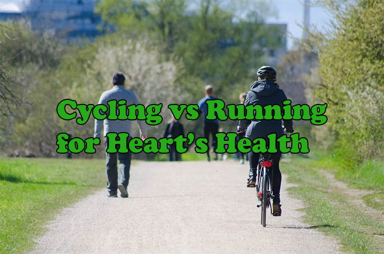Cycling vs Running for Heart Health