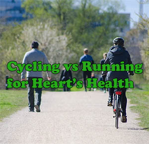 is cycling better or running